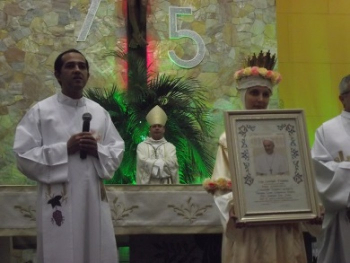 Santuário Nossa Senhora da Salette celebra 75 anos de uma história de amor.