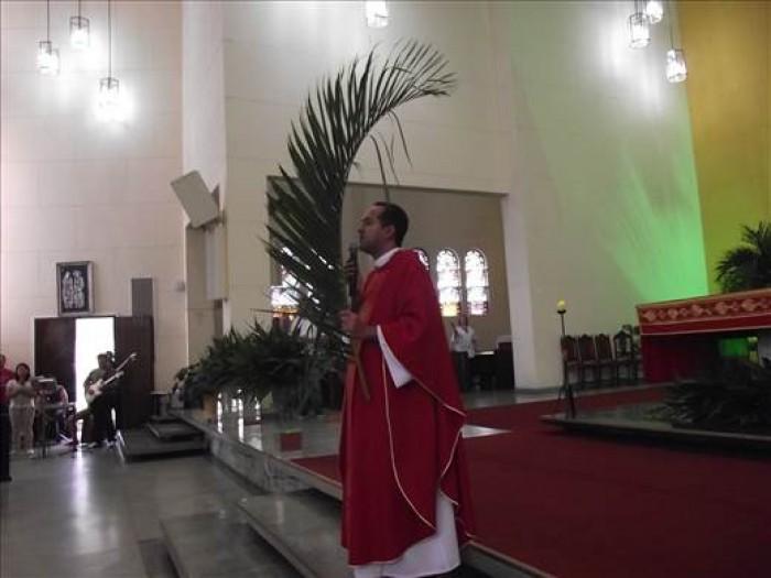 Missa de Domingo de Ramos 2015