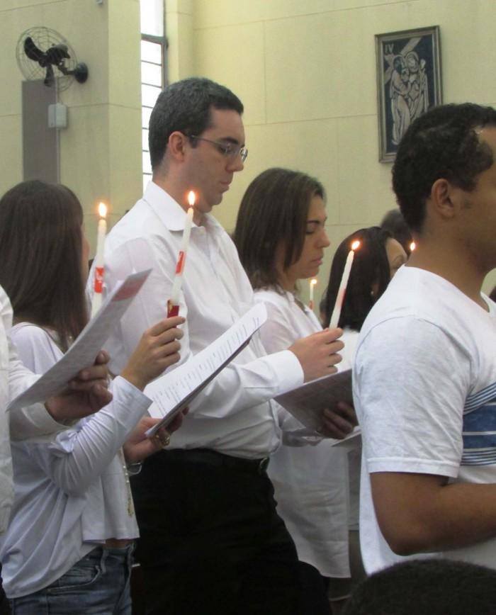Celebração do Sacramento do Crisma no Santuário Nossa Senhora da Salette