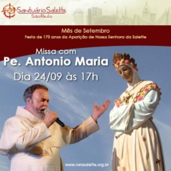 Missa com Pe. Antônio Maria