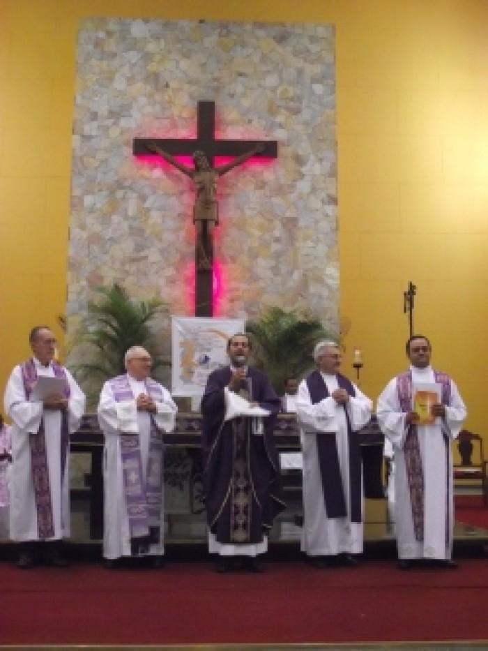 Acolhida Aos Pe. Atico E Pe. Luciano E Início Das Missões No Santuário Salette/SP