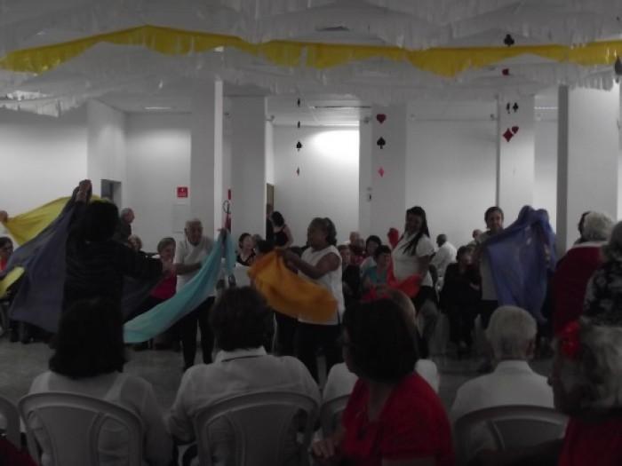 Evento Da 3a. Idade 2016 No Salão De Festas Do Santuário Salette