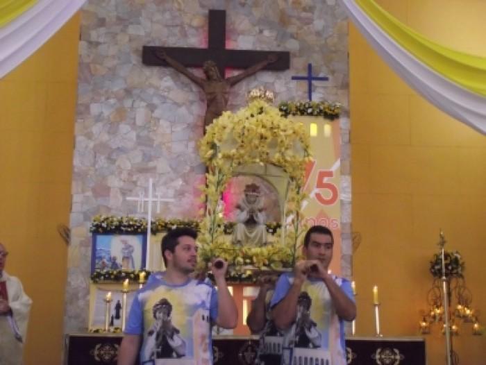 Missa das 12h no Santuário Salette 19 de setembro 2015