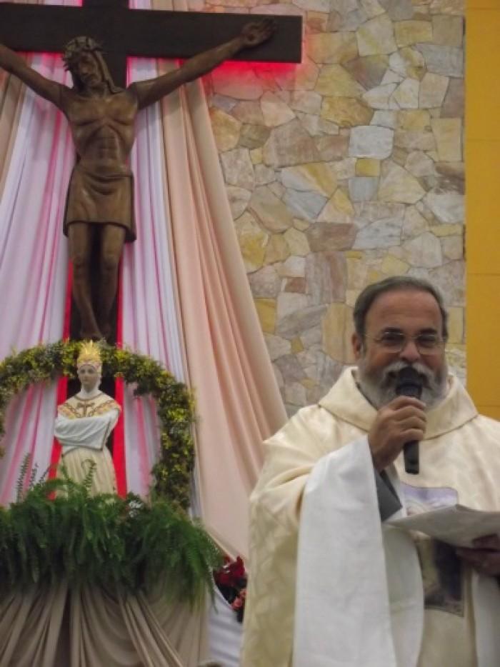 Missa dia 24/09/2916 às 17h celebrada pelo Pe. Antonio Maria