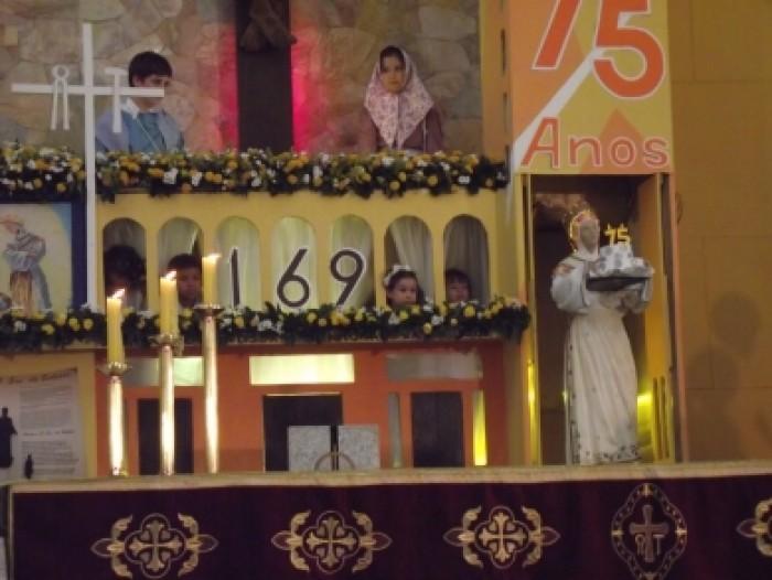 Missa das 19h no Santuário Salette 19 de setembro 2015