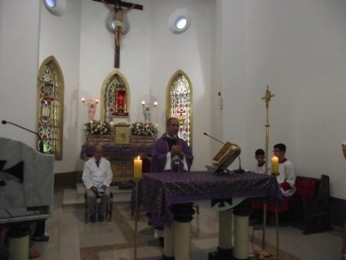 Capela Santa Cruz Missa de posse Pe. Marcos Alemida