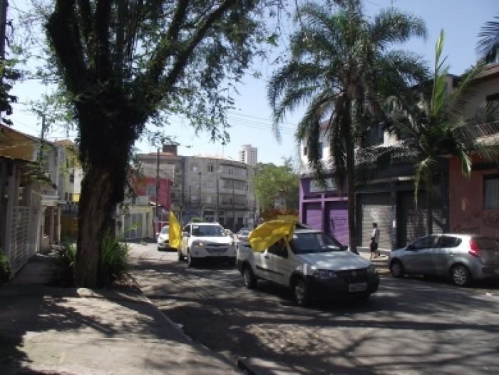 Carreata  pelas ruas do Bairro no Santuário Salette/sp