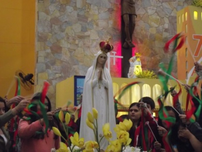 Terço e Missa com Imagem de N.Sra. de Fátima