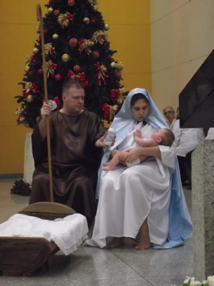 Missa da Noite de Natal 2017 no Santuário Salette de São Paulo
