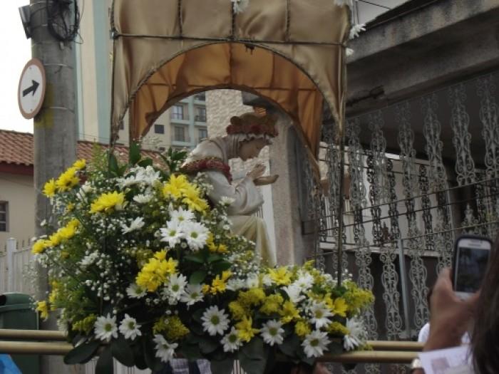 Procissão e Missa de encerramento da Festa de N.Sra. da Salette 2014