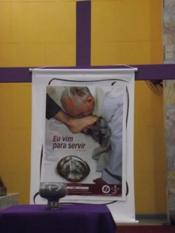 INÍCIO DA QUARESMA NO SANTUÁRIO SALETTE - SP