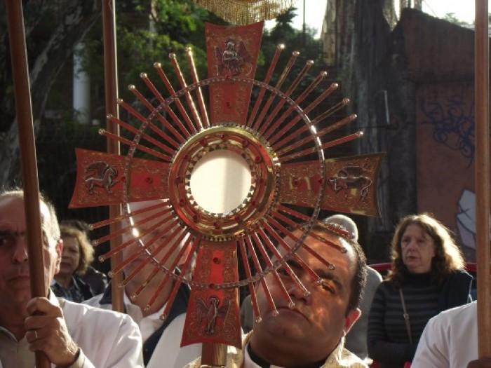 Celebração de Corpus Christi no Santuário Salette/SP