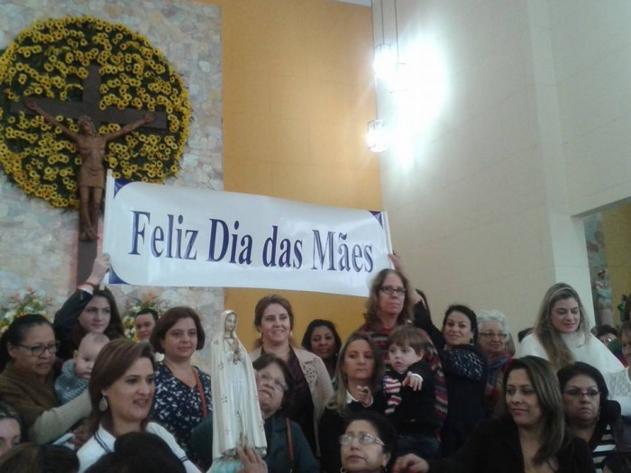 Dia das Mães é comemorado no Santuário Nossa Senhora da Salette