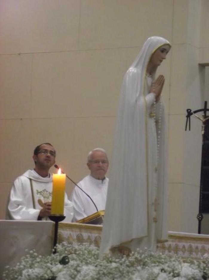 Imagem peregrina de N.Sra. de Fátima visita Santuário Salette