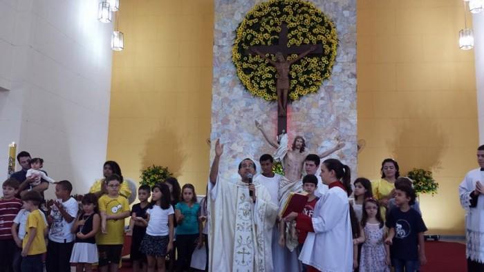 Domingo de Páscoa no Santuário Nossa Senhora da Salette