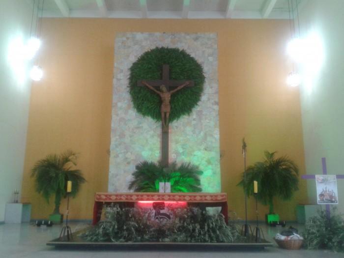 Santuário Salette celebra Domingo de Ramos