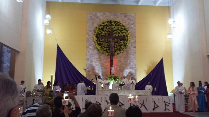 Vigília Pascal no Santuário Nossa Senhora da Salette