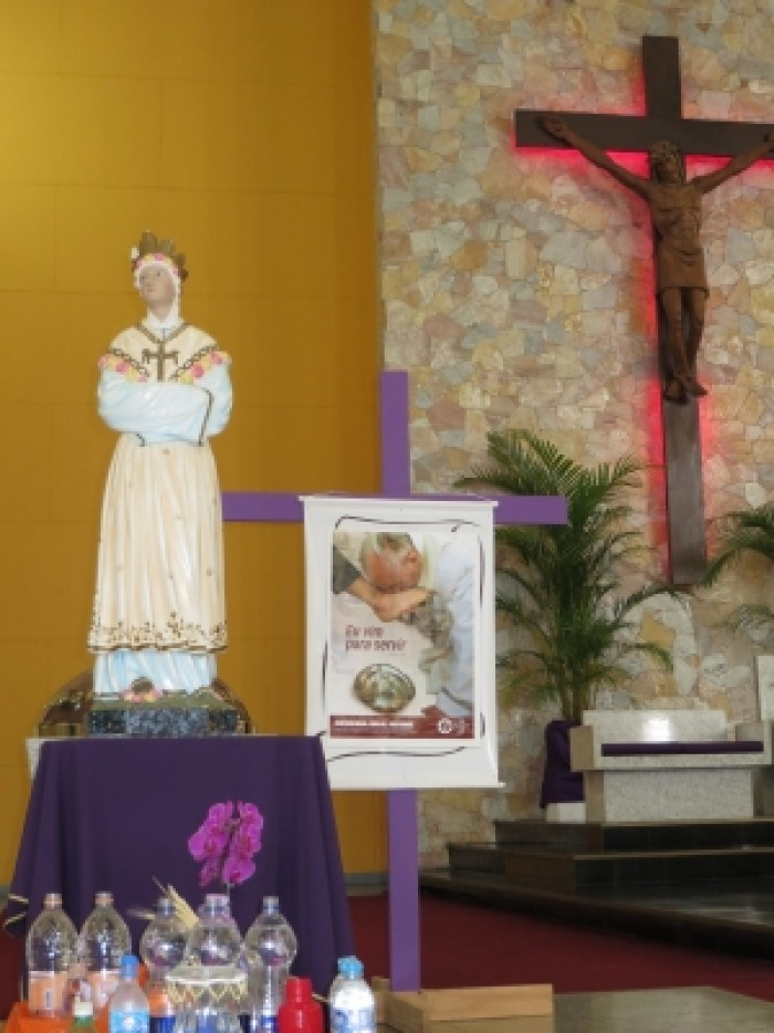 Missa em memória a aparição de N.Sra da Salette